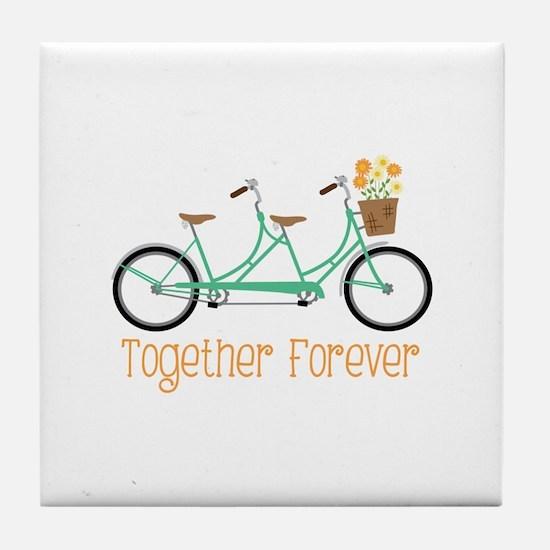 Together Forever Tile Coaster