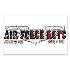 ROTC Navigator Wings Rectangle Bumper Stickers
