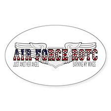 ROTC Navigator Wings Oval Bumper Stickers