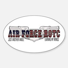 ROTC Navigator Wings Oval Bumper Stickers