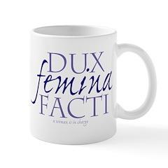 dux femina facti MUG