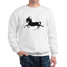 Black Leaping Pony Sweatshirt