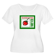 Strawberry Fields Forever/John Lennon Plus Size T-