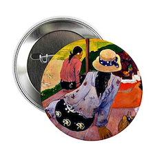 """Gauguin - Siesta 2.25"""" Button"""