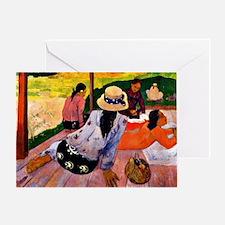 Gauguin - Siesta Greeting Card