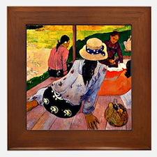 Gauguin - Siesta Framed Tile