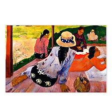 Gauguin - Siesta Postcards (Package of 8)