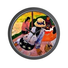 Gauguin - Siesta Wall Clock