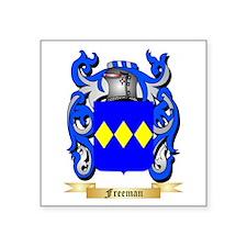 "Freeman Square Sticker 3"" x 3"""