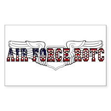 ROTC Navigator Wings Rectangle Decal