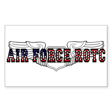 ROTC Navigator Wings Rectangle Sticker
