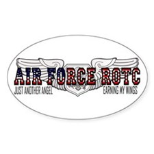 ROTC Officer Aircrew Oval Bumper Stickers