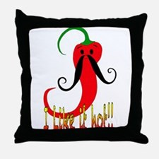 I LIKE IT HOT! Throw Pillow