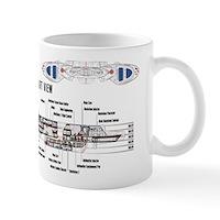 U.S.S. Defiant Mug