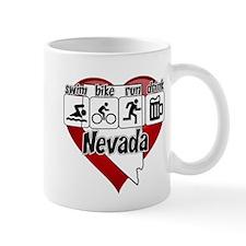 Nevada Swim Bike Run Drink Mug