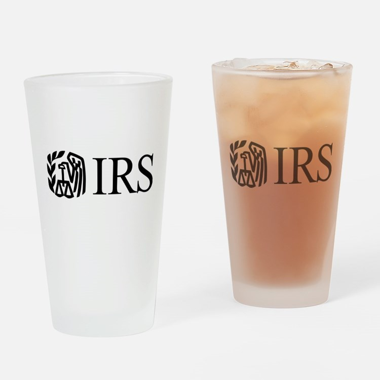 IRS (Logo) Drinking Glass