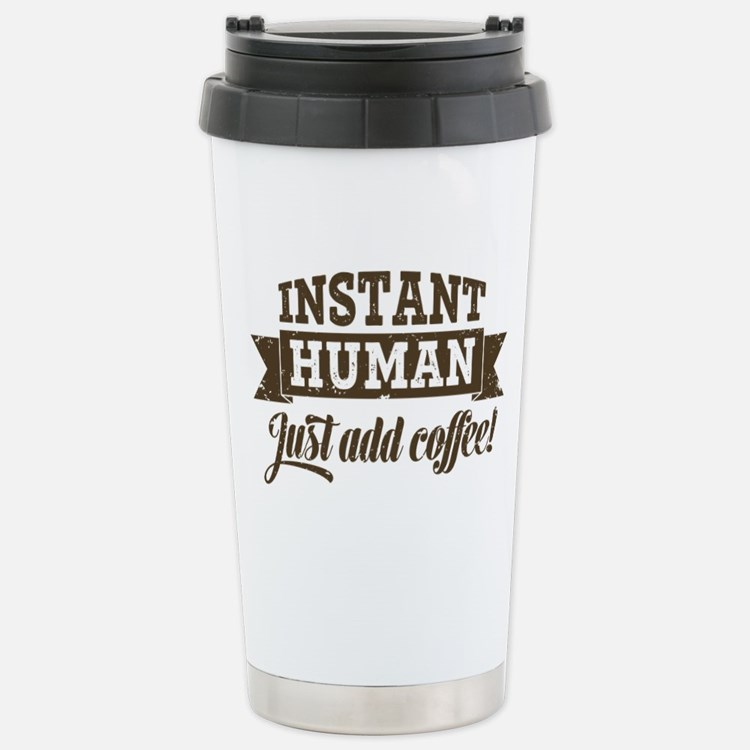 Instant Human Stainless Steel Travel Mug