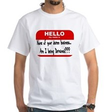 My name is being detained T-Shirt