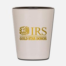 IRS (Gold Star Donor) Shot Glass