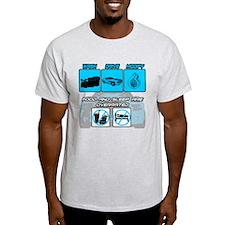 Muscle Car Life Light T-Shirt