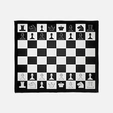 Chessboard Throw Blanket