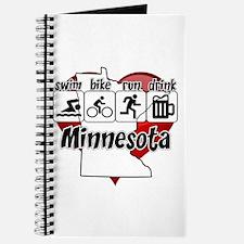 Minnesota Swim Bike Run Drink Journal