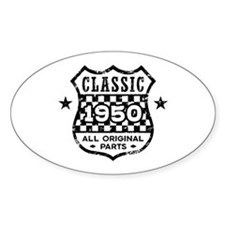 Classic 1950 Decal