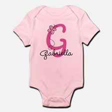 Personalized Monogram Letter G Infant Bodysuit