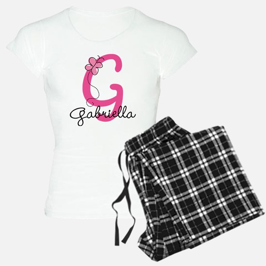 Personalized Monogram Lette Pajamas