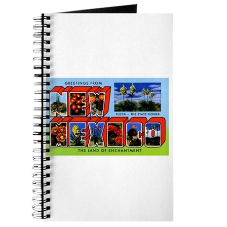 New Mexico Greetings Journal