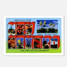 New Mexico Greetings Postcards (Package of 8)