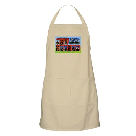 New Mexico Greetings BBQ Apron