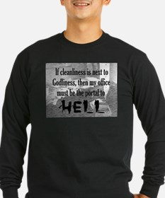 office portal hell :) Long Sleeve T-Shirt