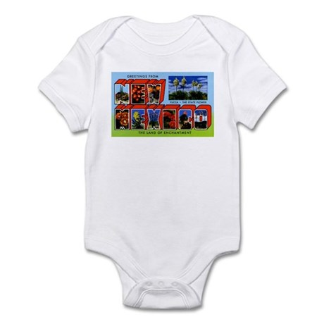 New Mexico Greetings Infant Bodysuit
