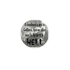 Office Portal Hell :) Mini Button