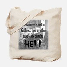 Office Portal Hell :) Tote Bag