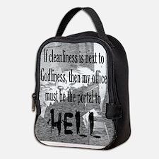 Office Portal Hell :) Neoprene Neoprene Lunch Bag