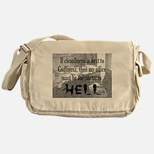 office portal hell :) Messenger Bag