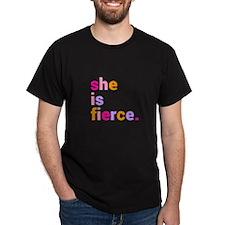 She if Fierce Colors T-Shirt