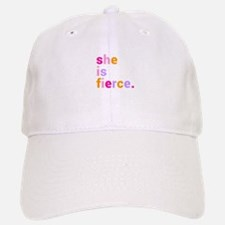 She if Fierce Colors Baseball Baseball Cap