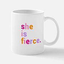 She if Fierce Colors Mug