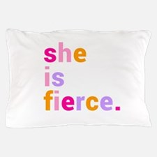She if Fierce Colors Pillow Case