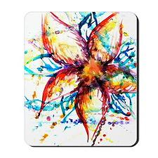 Vibrant Flower Mousepad