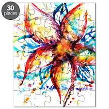 Vibrant Flower Puzzle