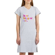 best biggest sis. Women's Nightshirt