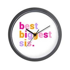 best biggest sis. Wall Clock