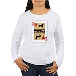 Queen Griffon Women's Long Sleeve T-Shirt