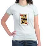 Queen Griffon Jr. Ringer T-Shirt