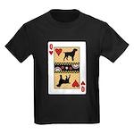 Queen Griffon Kids Dark T-Shirt