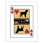 Queen Griffon Small Poster